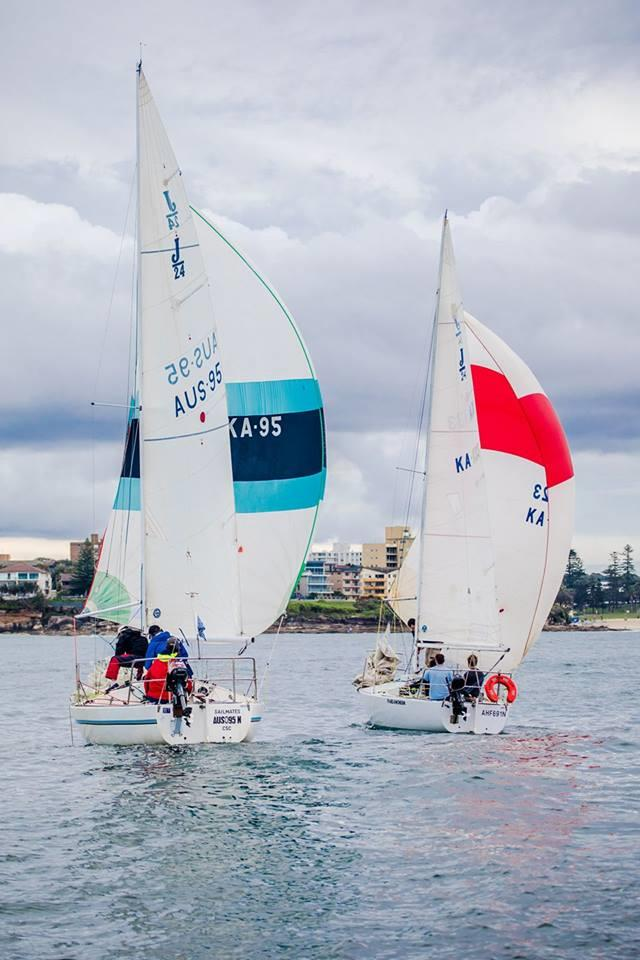All set for the J24 Botany Bay Easter Regatta photo copyright BBYC taken at Botany Bay Yacht Club and featuring the J/24 class