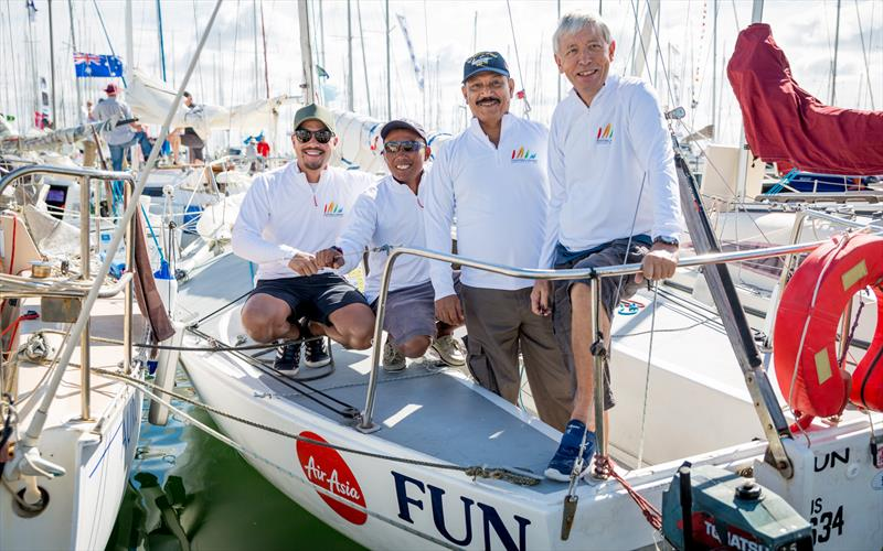 Malaysian crew on-board at the 2019 Festival of Sails - photo © Passionfolk