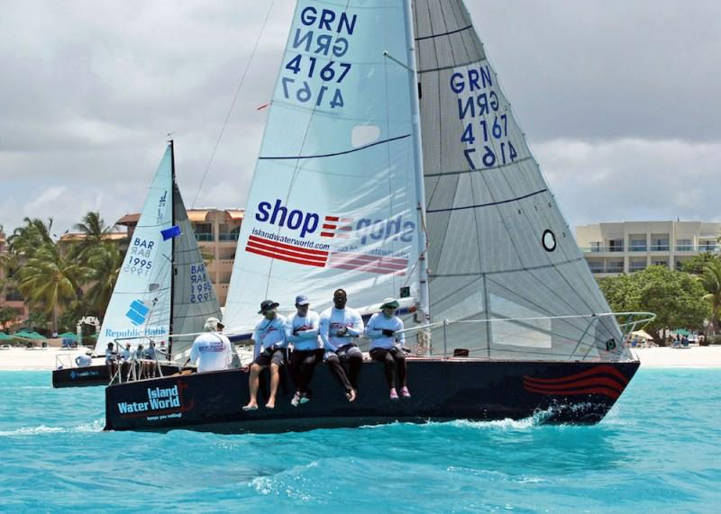 By popular demand, J/24 fleet Coastal Racing is now run over two days photo copyright Peter Marshall / BSW taken at Barbados Cruising Club and featuring the J/24 class