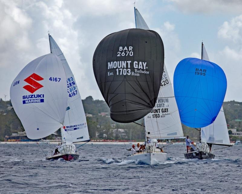 Coastal Racing takes place over the first few days - Barbados Sailing Week - photo © Peter Marshall