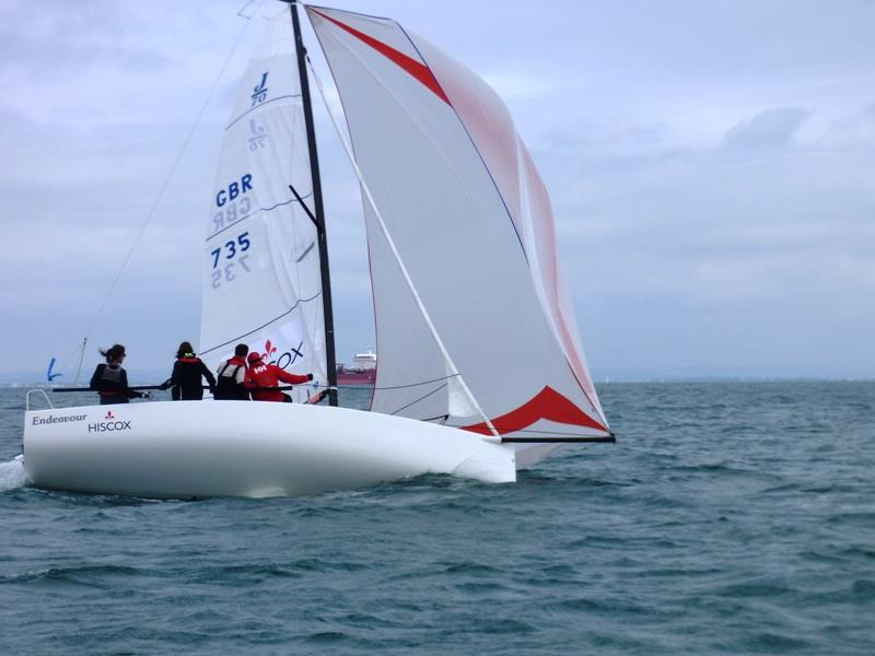 Redwing, One-Design and J70 racing at Bembridge - photo © Mike Samuelson