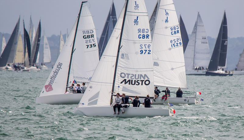 2019 Taittinger Royal Solent Yacht Club Regatta - photo © Paul Brown