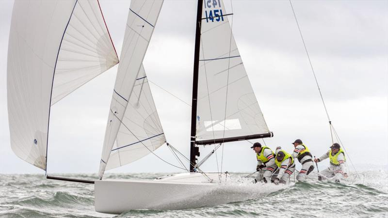 Paul Ward's Eat,Sleep,J,Repeat GBR photo copyright Shaun Roster Photography taken at Royal Torbay Yacht Club and featuring the J70 class