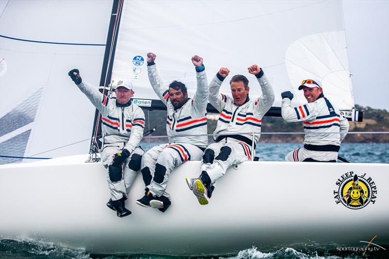 Eat, Sleep, J, Repeat! win the Darwin Escapes 2019 J/70 World Championships - photo © www.Sportography.tv
