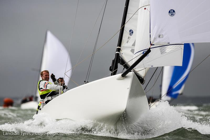 Eat sleep J Repeat, GBR 1451, J70 on day 1 of the 2020 Landsail Tyres J-Cup - photo © Paul Wyeth / www.pwpictures.com