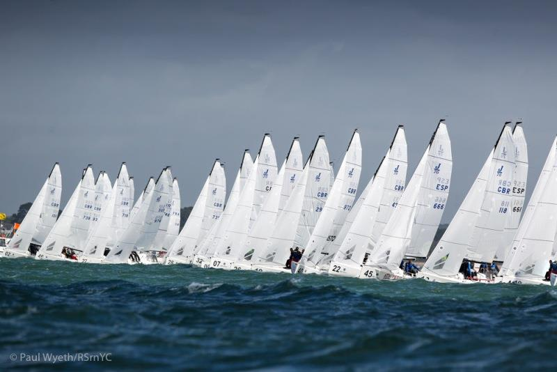 The J/70 UK National Championship will be hosted by the Royal Southern Yacht Club  - photo © Paul Wyeth