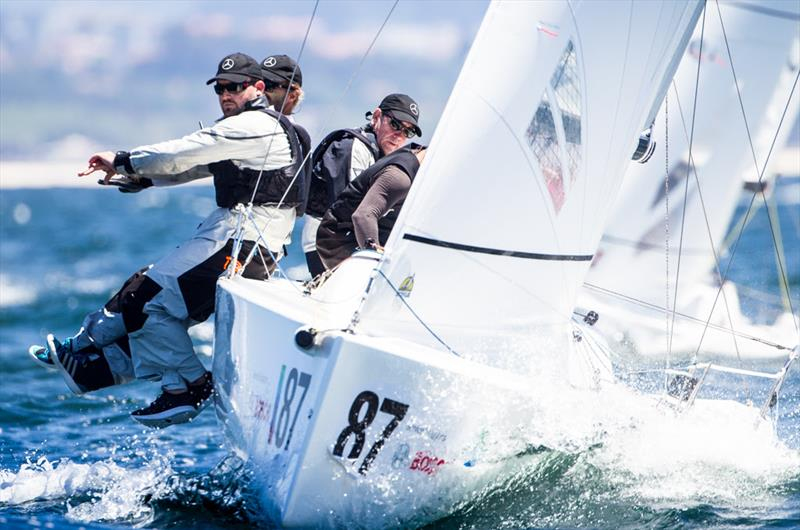 Peter Duncan's 'Relative Obscurity' (USA) - photo © 2018 J/70 European Championships / www.sailingshots.es