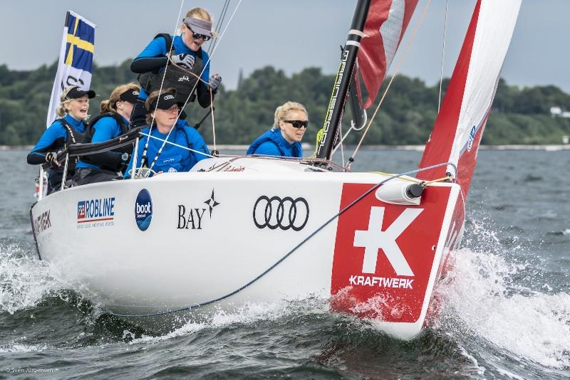 Women's SAILING Champions League photo copyright Event Media taken at Kieler Yacht Club and featuring the J70 class