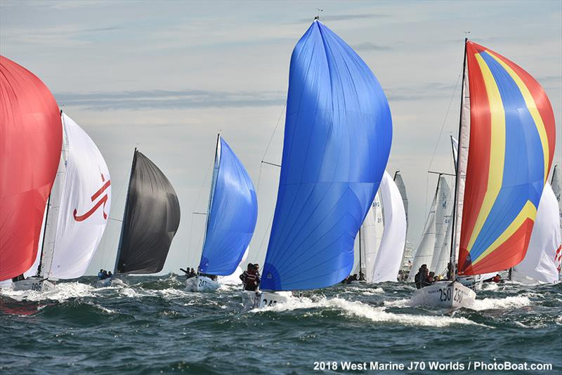 2018 West Marine J/70 World Championships - Day 3 - photo © 2018 West Marine J/70 Worlds / PhotoBoat.com