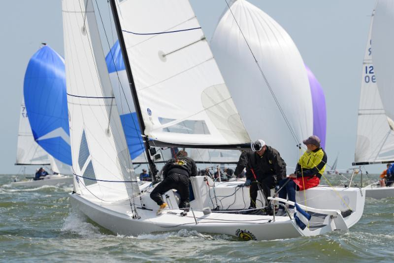 Eat, Sleep, J, Repeat triumphs in the J70 class on day 3 of the RORC Vice Admiral's Cup 2019 - photo © Rick Tomlinson / www.rick-tomlinson.com