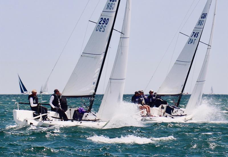 J/70 Southern Area Championship photo copyright Louay Habib taken at Royal Thames Yacht Club and featuring the J70 class