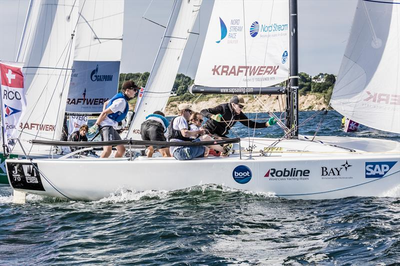 Regattaclub Oberhofen from Switzerland take second in the Youth SAILING Champions League - photo © SCL / Oliver Maier