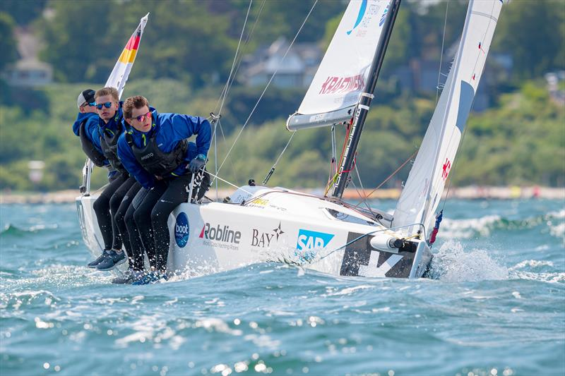 Flensburger Segel Club from Germany take third in the Youth SAILING Champions League - photo © SCL / Oliver Maier