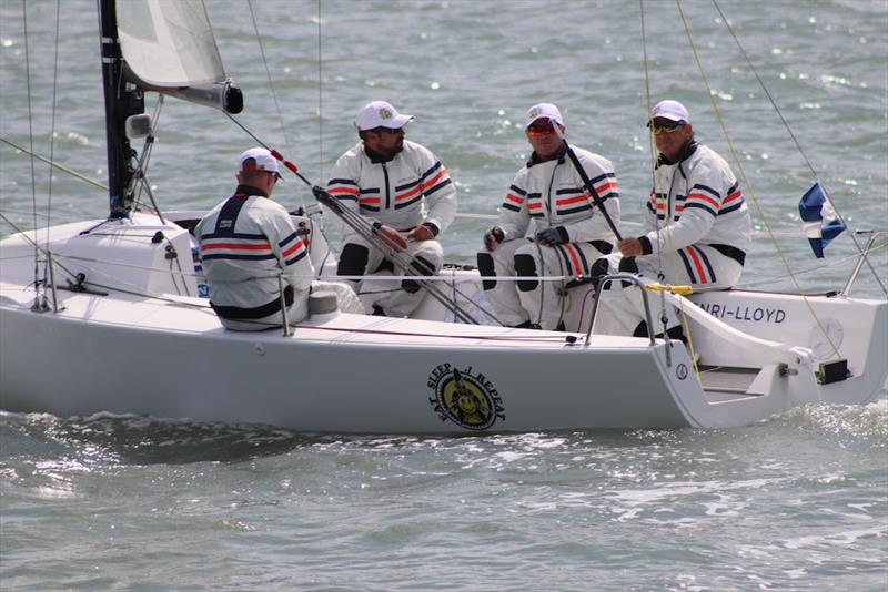 J/70 Grand Slam Series at 2019 Cowes Week photo copyright Louay Habib taken at Cowes Combined Clubs and featuring the J70 class