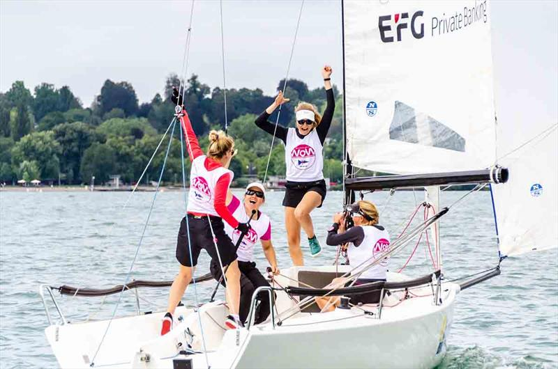 Swiss Sailing Women's Cup 2019  photo copyright Felix Kling taken at  and featuring the J70 class