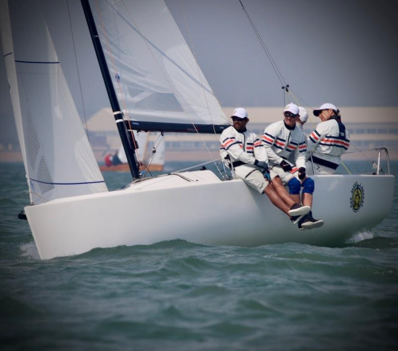 Paul Ward's J/70 Eat Sleep J Repeat - Royal Southern YC Charity Cup Regatta - photo © Louay Habib / RSrnYC