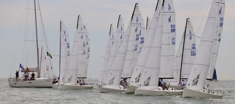 22 teams for the 2020 J/70 UK National Championships - photo © Louay Habib