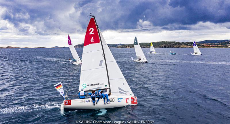 Audi SAILING Champions League Final 2020 photo copyright SAILING Champions League / Sailing Energy taken at Yacht Club Costa Smeralda and featuring the J70 class