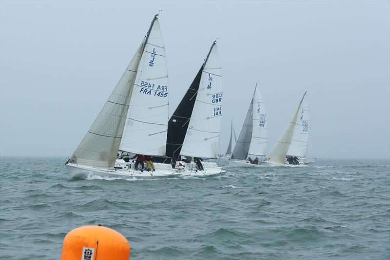 J80s during  LTSC Solent Circuit Race 5 - photo © J Caldwell