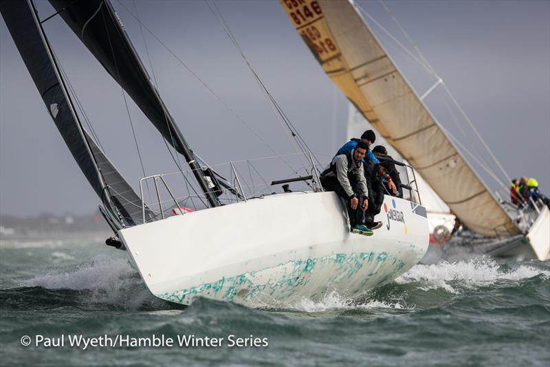 Jongleur on week 8 of HYS Hamble Winter Series - photo © Paul Wyeth / www.pwpictures.com
