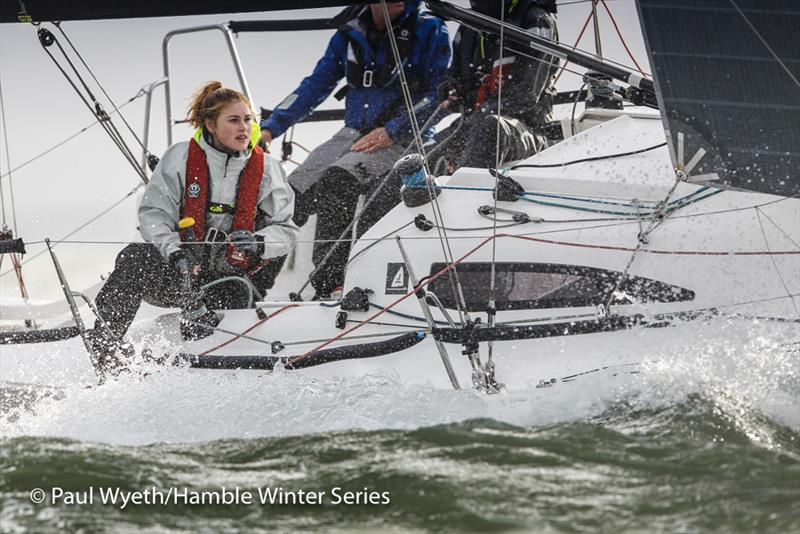 J-Dream on week 8 of HYS Hamble Winter Series - photo © Paul Wyeth / www.pwpictures.com