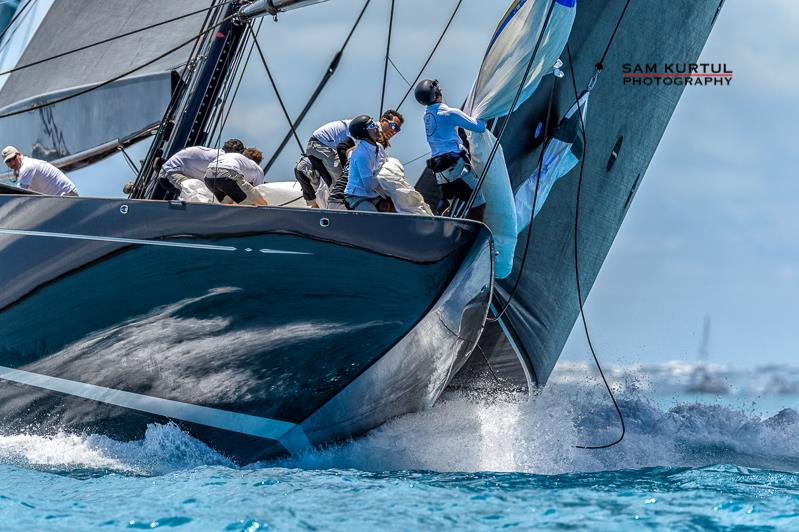 Hanuman and Ranger tied at the top on America's Cup J Class