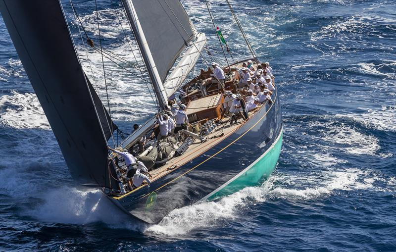 The J Class Topaz is the longest competing yacht at this year's Maxi Yacht Rolex Cup - photo © Rolex / Studio Borlenghi