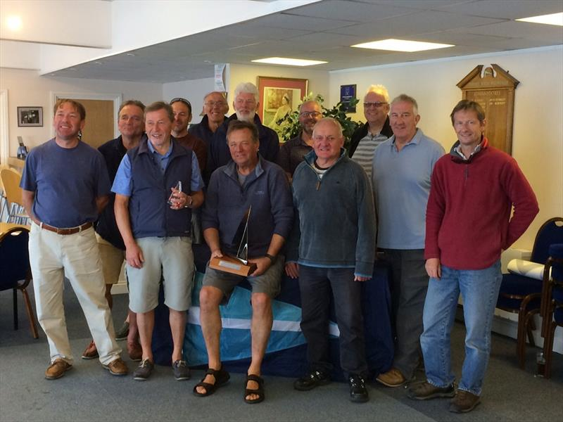 Prize-winners at the K1 National Championships at Datchet  - photo © K1 Class