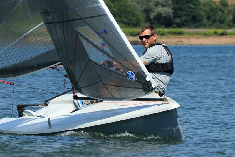 Andy Snell wins the K1 Travellers at Teign Corinthian YC - photo © Heather Davies