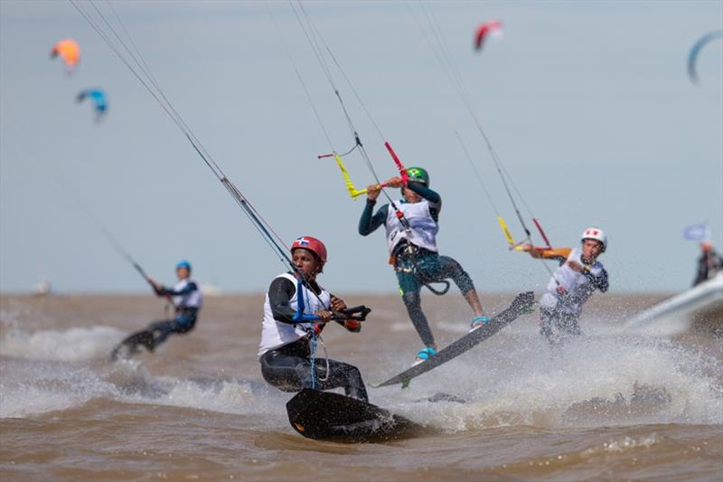 Kiteboarding at the 2018 Youth Olympic Games - Day 2