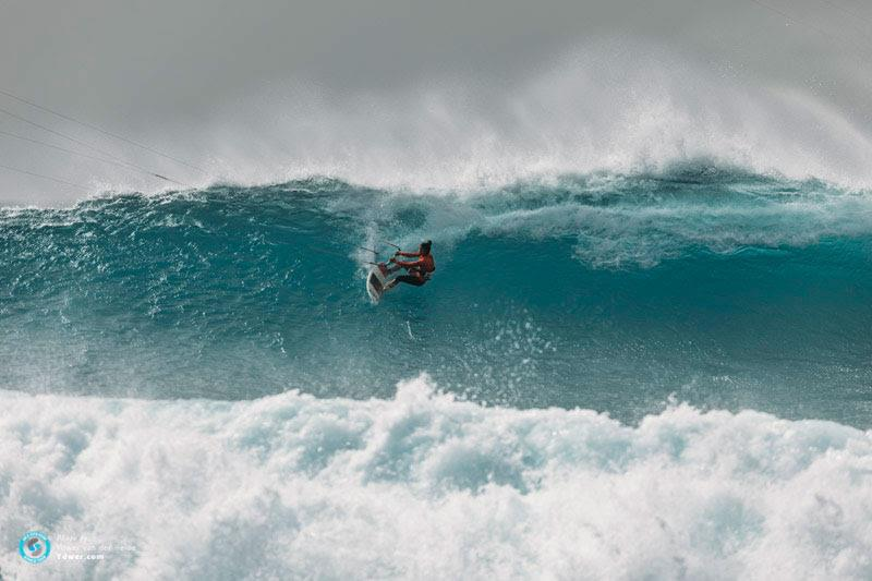 Charlotte charges! - GKA Kite-Surf World Cup Cabo Verde, Day 4 - photo © Ydwer van der Heide