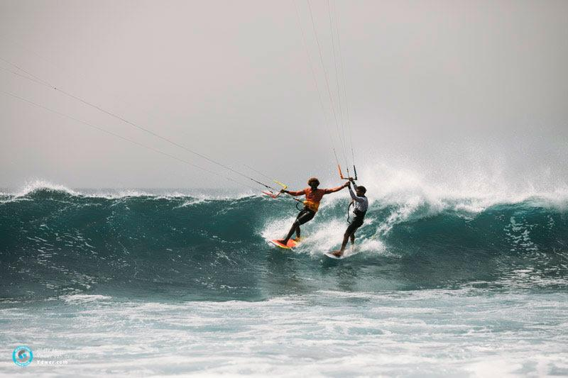 Legitimate legends - GKA Kite-Surf World Cup Cabo Verde, Day 4 - photo © Ydwer van der Heide