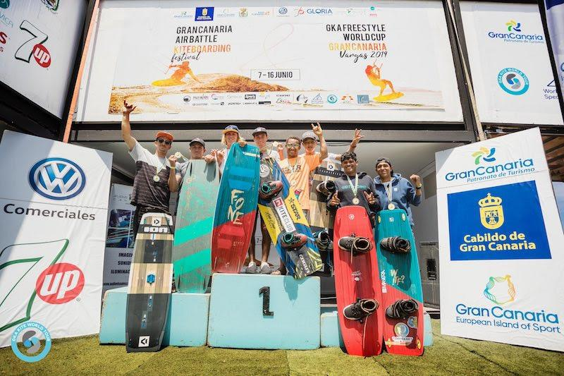 2019 GKA Freestyle World Cup Gran Canaria - photo © Svetlana Romantsova
