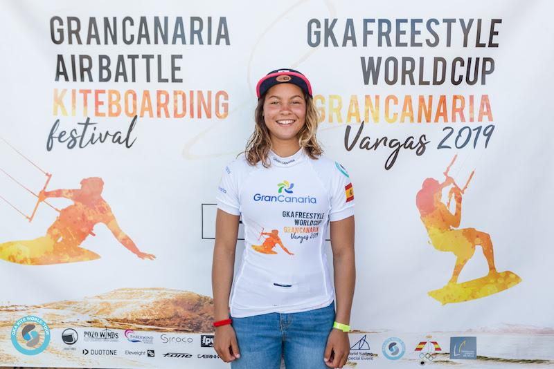 Mikaili Sol storms into first overall after her performance here in Gran Canaria - 2019 GKA Freestyle World Cup Gran Canaria - photo © Svetlana Romantsova