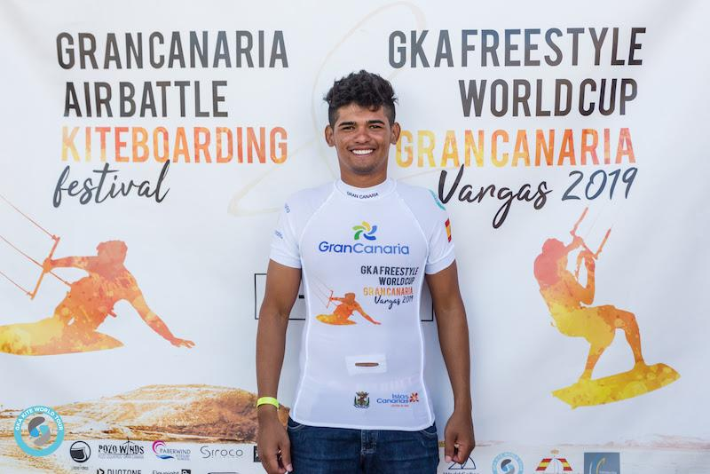 Carlos Mario retains the top spot after this event - 2019 GKA Freestyle World Cup Gran Canaria - photo © Svetlana Romantsova