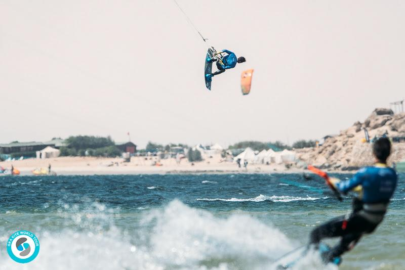 Hailing from Cumbuco in Brazil, Erick Anderson is one of the best riders you'll see from that kiting mecca. He doesn't come to every tour stop, but he's an incredible talent and will be relishing the tour coming to his home spot for the finals next month. - photo © Ydwer van der Heide