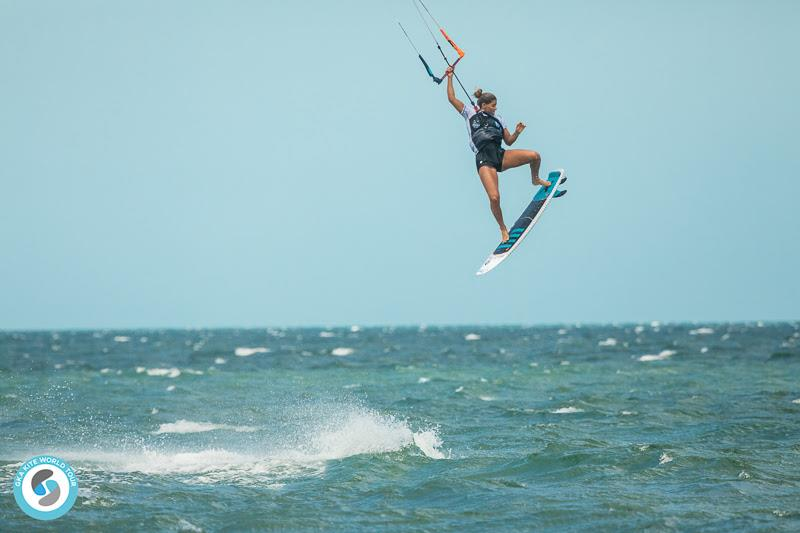 That's the front roll dialled in, then! - GKA Kite-Surf World Cup Prea day 2 - photo © Svetlana Romantsova