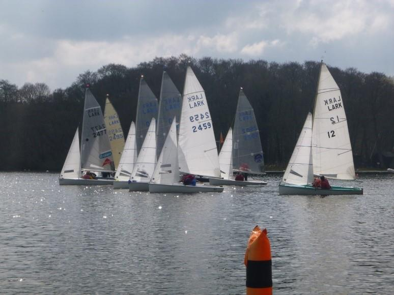 Lark Open at Frensham Pond Sailing Club