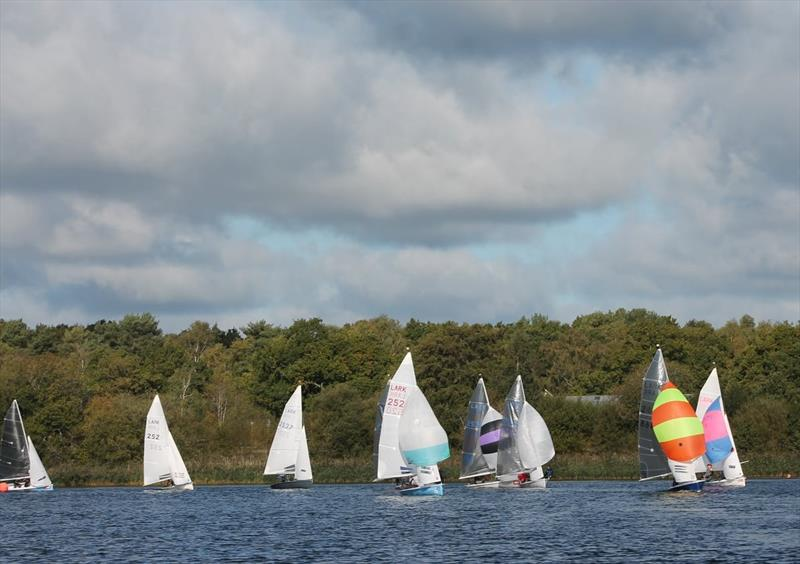 Lark Open at Frensham Pond photo copyright Rebecca Videlo taken at Frensham Pond Sailing Club and featuring the Lark class