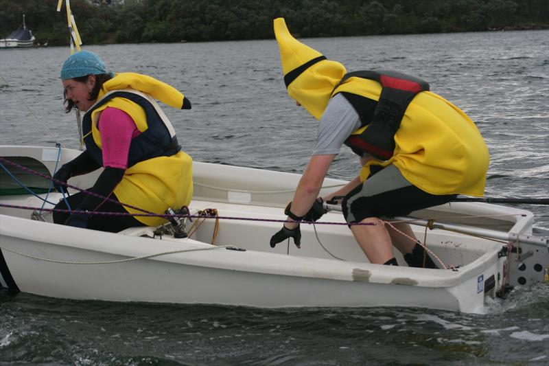 Going bananas in the 2011 West Lancs YC 24 Hour Race - photo © Paul Craven