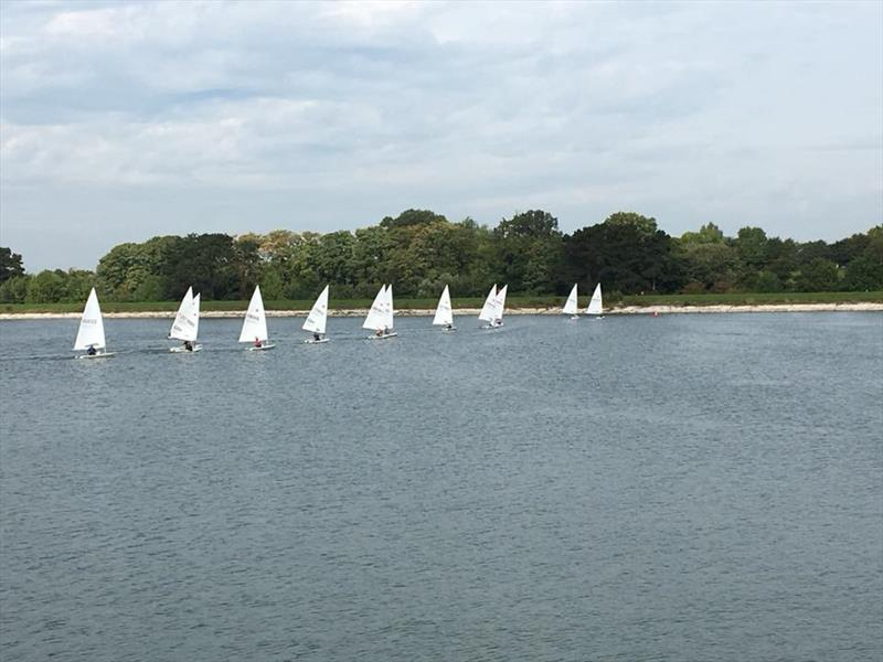 Lasers at Shustoke - photo © Shustoke Sailing Club