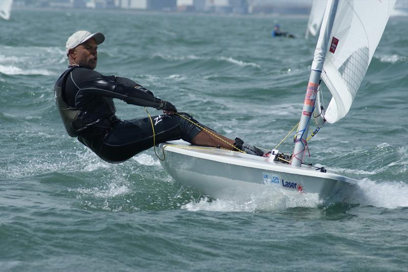 Mike Matan during the Lennon Irish Laser Masters - photo © Heather King