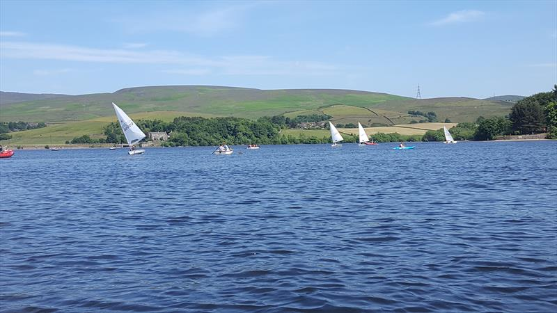 Laser Northern Travellers at Hollingworth Lake - photo © Chris Massey