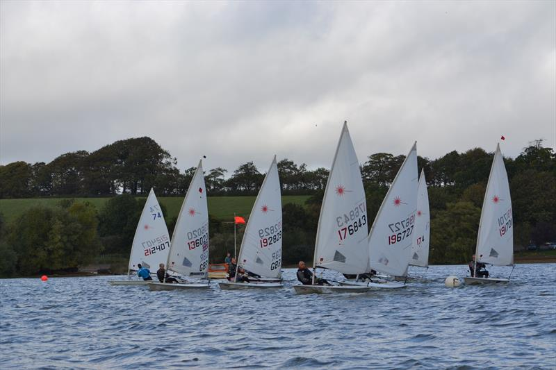 Racing gets under way in the Laser South Coast Grand Prix at Sutton Bingham - photo © Saffron Gallagher