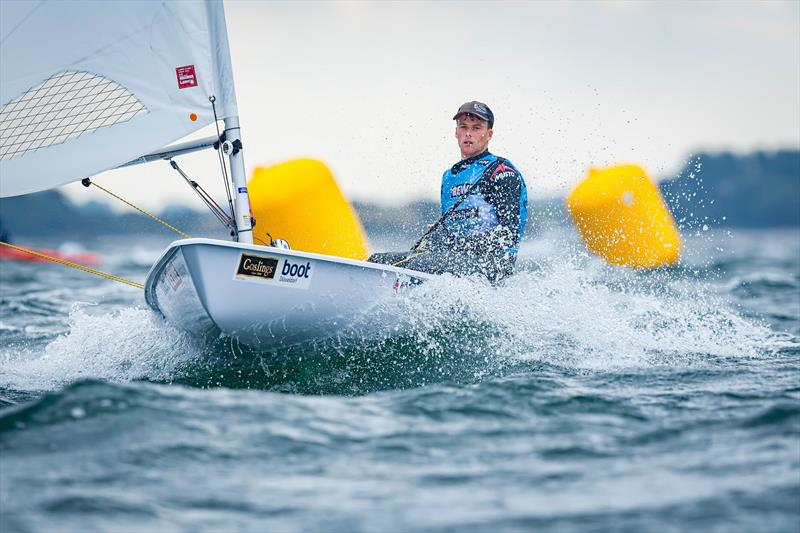 Michael Beckett photo copyright Kieler Woche taken at Kieler Yacht Club and featuring the Laser class