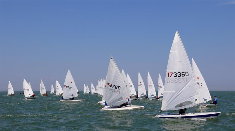 Laserfest Tri-Series Round 2 at Whitstable  - photo © Nicky Whatley