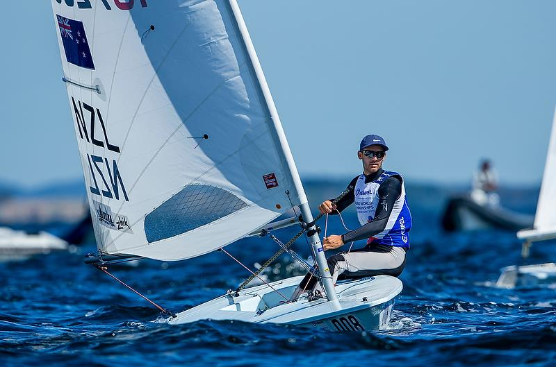 Tom Saunders (NZL) - Laser - Day 8 - Hempel Sailing World Championships 2018 - Aarhus, Denmark, August 2018 - photo © Sailing Energy / World Sailing