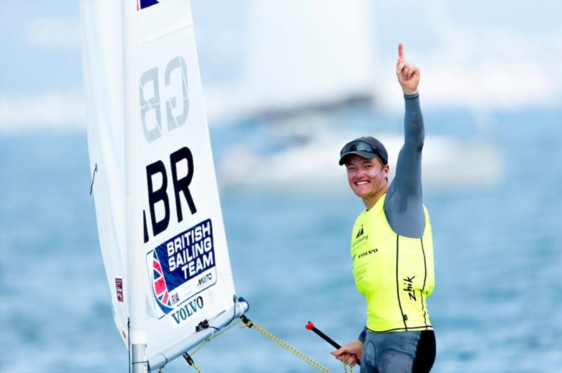 Elliot Hanson - photo © Pedro Martinez / Sailing Energy / World Sailing