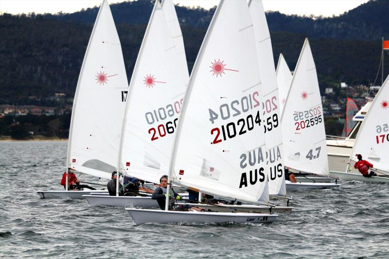 Start of the Lasers at the BMW Showdown - photo © Penny Conacher