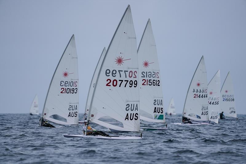 Laser standard racing - 2019 Laser Oceania and Australian Championship - photo © Beau Outteridge